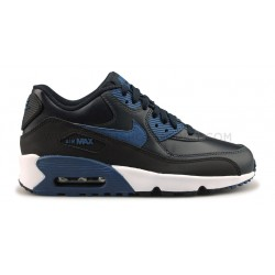 NIKE AIR MAX 90 LTR JUNIOR BLEU