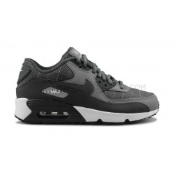 NIKE AIR MAX 90 LTR JUNIOR GRIS