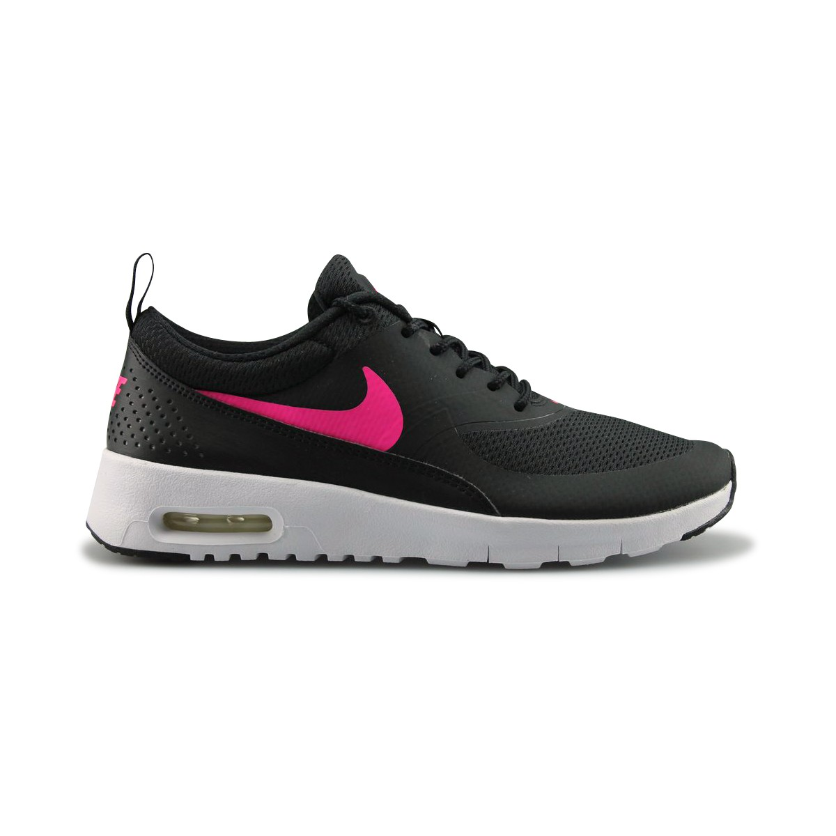 huge selection of 35a87 28eb9 Nike Air Max Thea Noir Blanc Rose 814444-001 Street Shoes ...