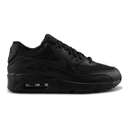 NIKE AIR MAX 90 MESH JUNIOR NOIR
