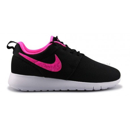 NIKE ROSHE ONE JUNIOR NOIR ROSE