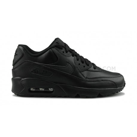 NIKE AIR MAX 90 LTR JUNIOR NOIR