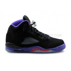 NIKE JORDAN 5 RETRO RAPTORS JUNIOR NOIR