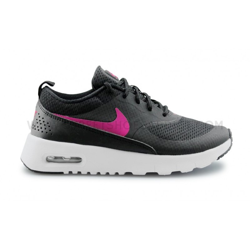 nike air max thea rose et noir. Black Bedroom Furniture Sets. Home Design Ideas