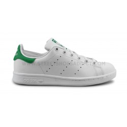 new concept 524f7 c9929 ADIDAS ORIGINALS STAN SMITH J BLANC VERT