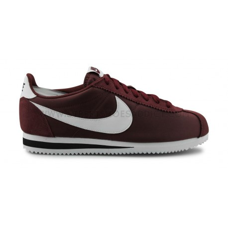 nike classic cortez rouge