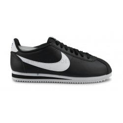 NIKE WMNS CLASSIC CORTEZ LEATHER NOIR