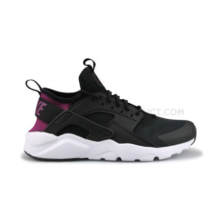NIKE AIR HUARACHE RUN ULTRA JUNIOR NOIR