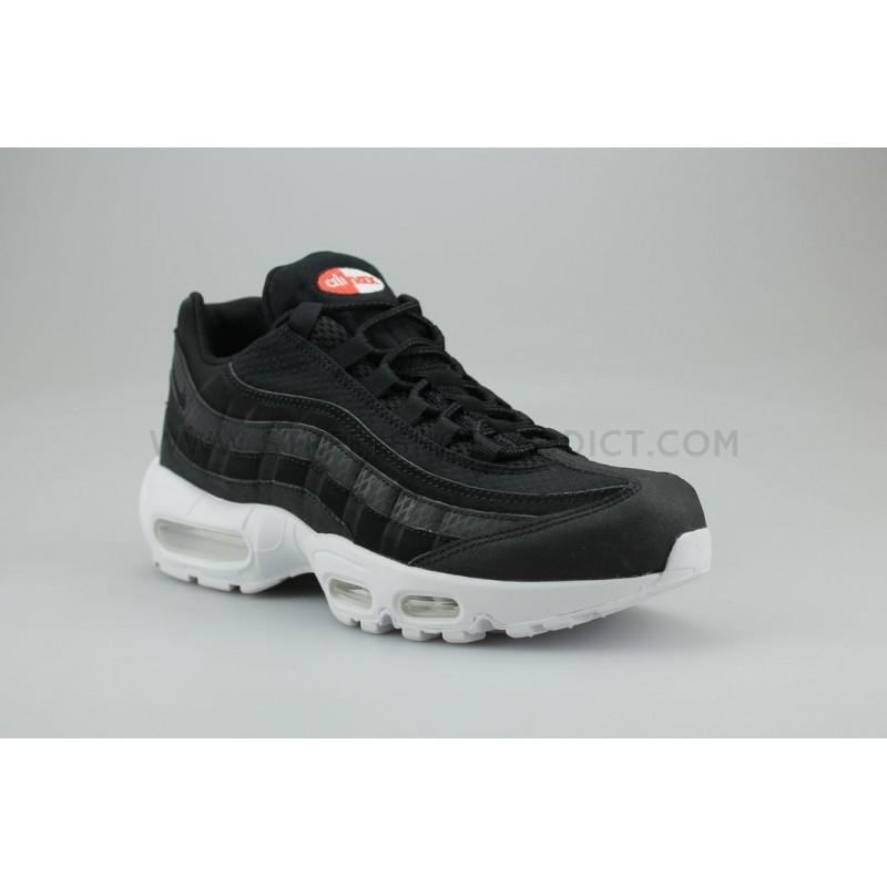 Nike Air Max 95 Premium Se Noir Blanc 924478 001