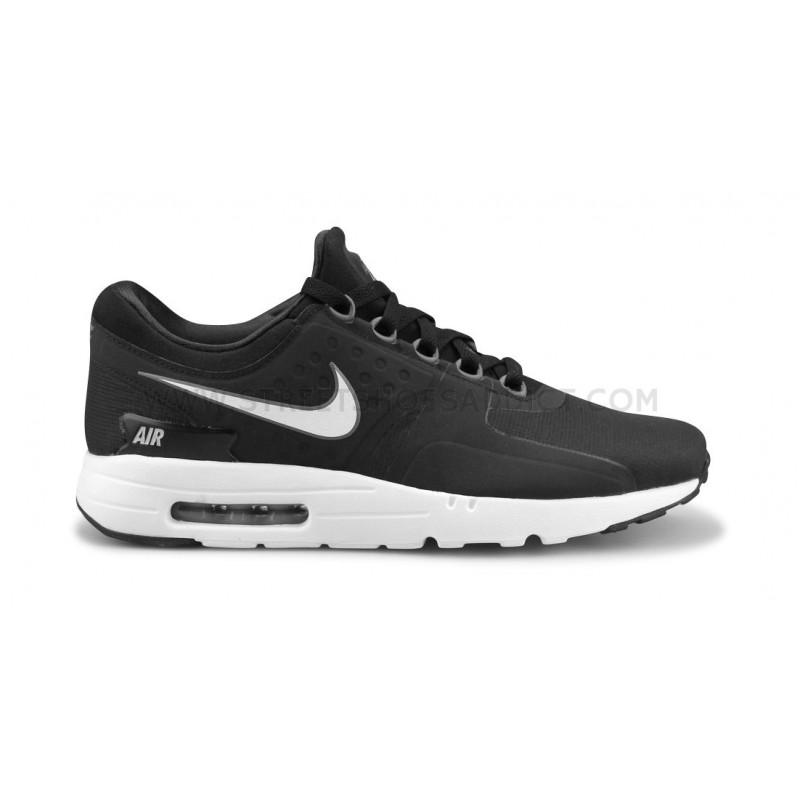 online store 02a40 78776 Nike Air Max Zero Essential Noir Blanc 876070 013 013 013 Street Chaussures  Addict 153087