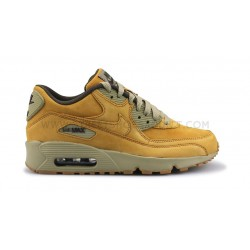NIKE AIR MAX 90 WINTER PREMIUM JUNIOR MARRON