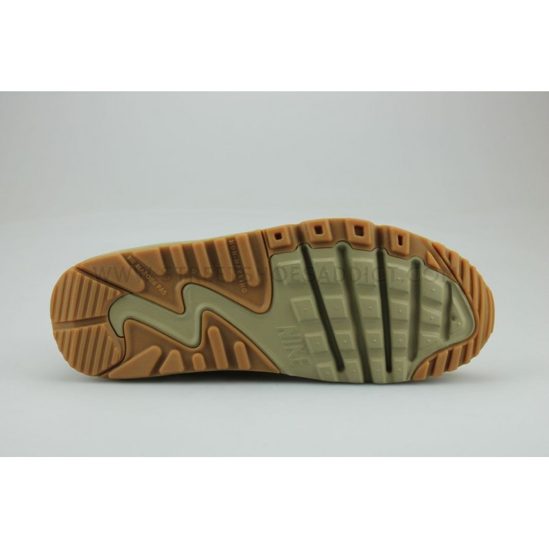 sports shoes 1e0ee ba826 NIKE AIR MAX 90 WINTER PREMIUM JUNIOR MARRON - Street Shoes Addict