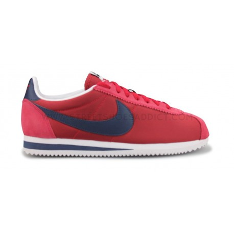 Nike Classic Cortez Nylon Rouge 807472 603 Street Chaussures Addict
