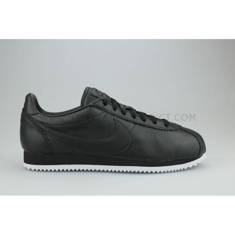 7636e7f5f924 Nike Classic Cortez Premium Noir 807480-002   Street Shoes Addict