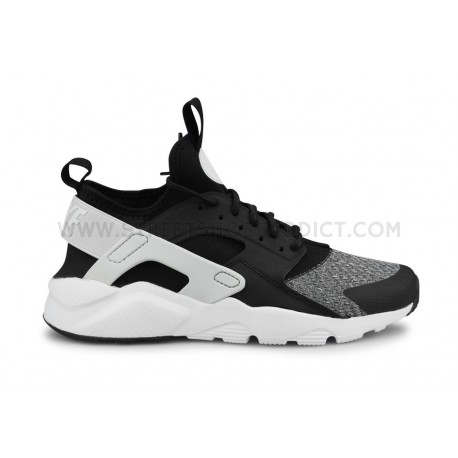 NIKE AIR HUARACHE RUN ULTRA SE JUNIOR NOIR
