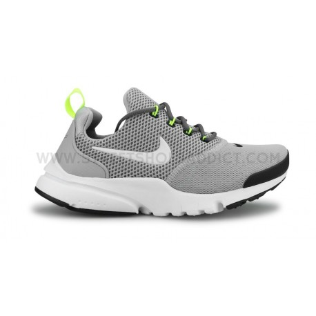 NIKE PRESTO FLY JUNIOR GRIS