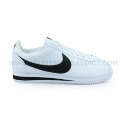 NIKE CLASSIC CORTEZ LEATHER BLANC