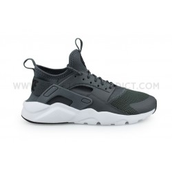 NIKE AIR HUARACHE RUN ULTRA JUNIOR GRIS