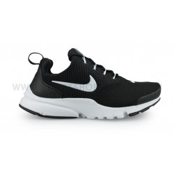NIKE PRESTO FLY JUNIOR NOIR