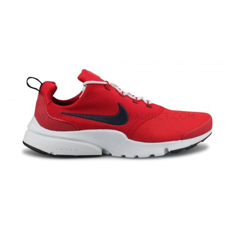tout neuf 64bc0 816a5 NIKE PRESTO FLY ROUGE
