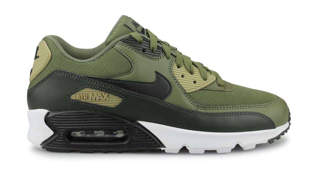 timeless design d2eff 26a40 ... new zealand nike air max 90 essential kaki noir aj1285 201 street shoes  addict 895a5 37828