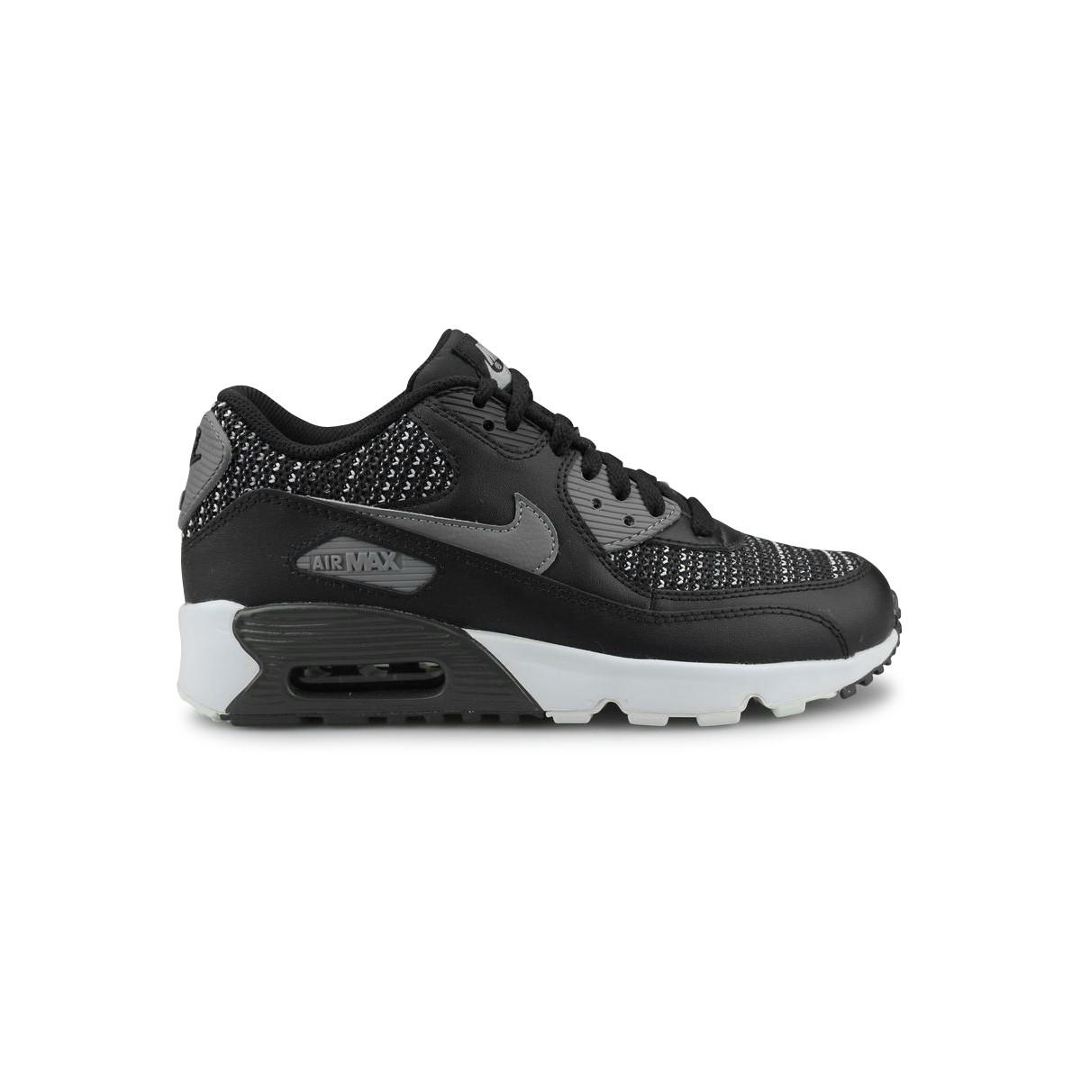 new product 170b7 c75b3 NIKE AIR MAX 90 MESH SE JUNIOR NOIR - Street Shoes Addict