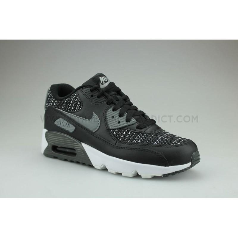 nouveau produit 44901 c2fd1 NIKE AIR MAX 90 MESH SE JUNIOR NOIR - Street Shoes Addict