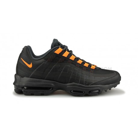 air max 95 ultra black and orange