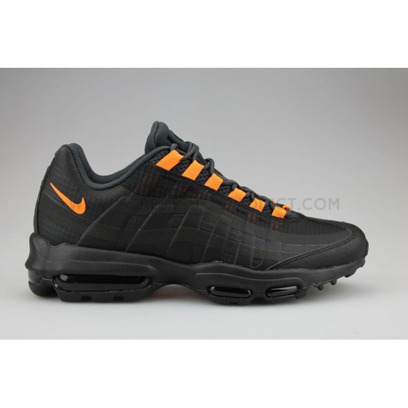 65590a4097ef61 Nike Air Max 95 Ultra SE Noir Orange AO9566-001