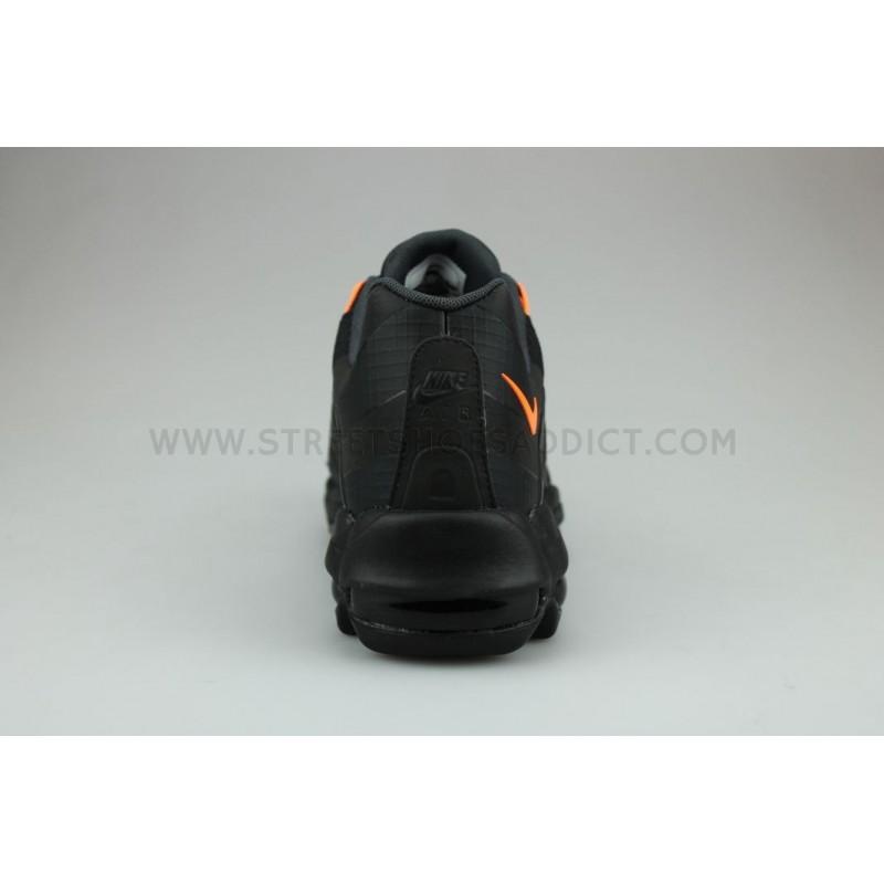 3d4084df81 Nike Air Max 95 Ultra SE Noir Orange AO9566-001 | Street Shoes Addict