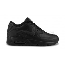 Nike Air Max 90 Leather Junior Noir