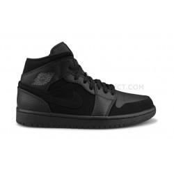Nike Air Jordan 1 Mid Noir