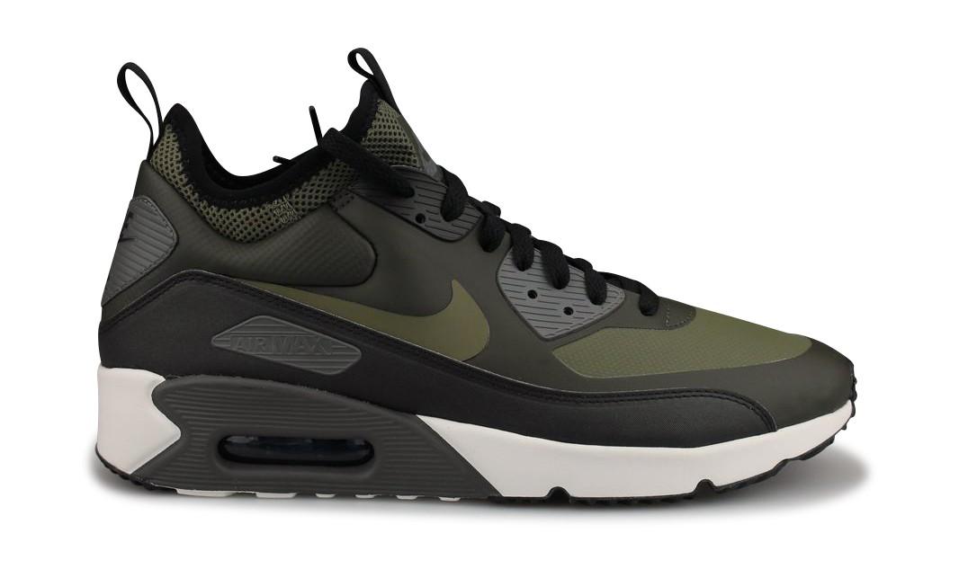 Homme Shoes Nike Kaki 924458 Addict Max Mid Winter Air 300Street 90 SzMVLGUqp