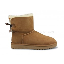 Ugg W Mini Bailey Bow 2 Marron