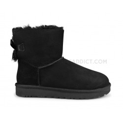 Ugg W Mini Bailey Bow 2 Noir