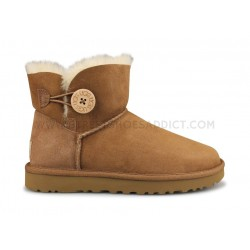 Ugg W Mini Bailey Button 2 Marron