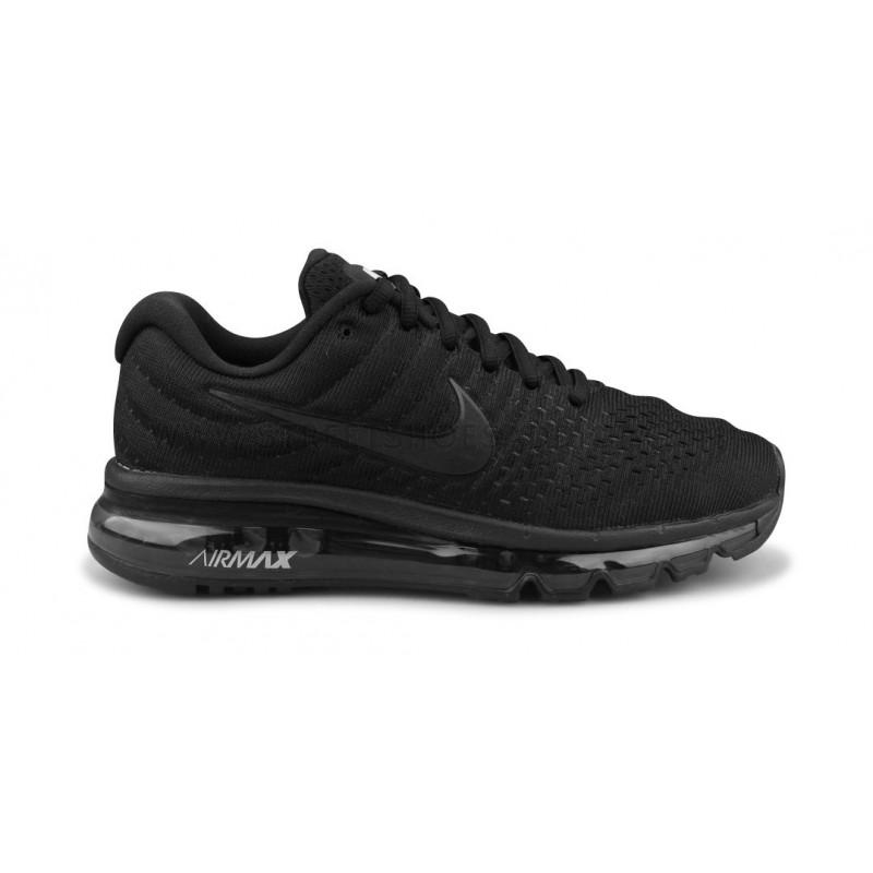 Wmns Nike Air Max 2017 Noir Street Shoes Addict