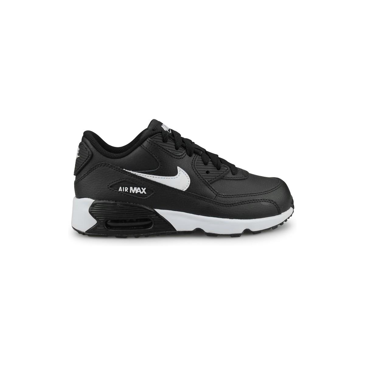 promo code d2f17 8baa0 Nike Air Max 90 Leather Enfant Noir - Street Shoes Addict