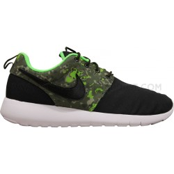 NIKE ROSHE ONE PRINT JUNIOR NOIR