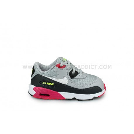 taille 40 99450 627f8 Nike Air Max 90 Mesh Bebe Gris