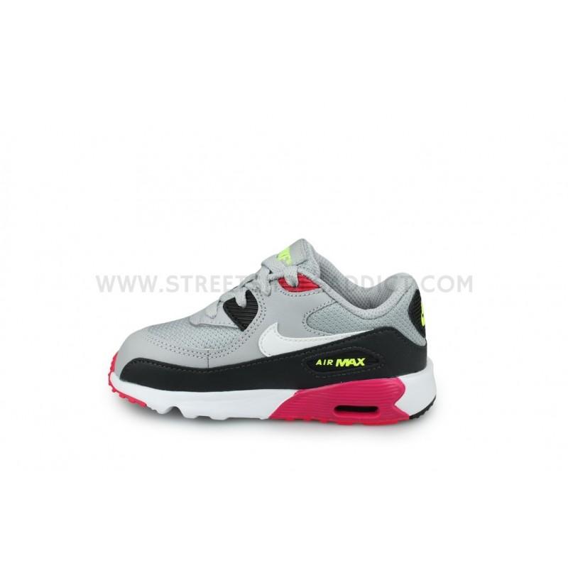 Addict Mesh 027Street Nike 90 833422 Air Gris Max Bébé Shoes E2DHW9I