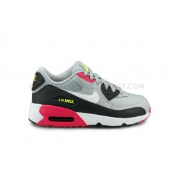 Nike Air Max 90 Mesh Enfant Gris