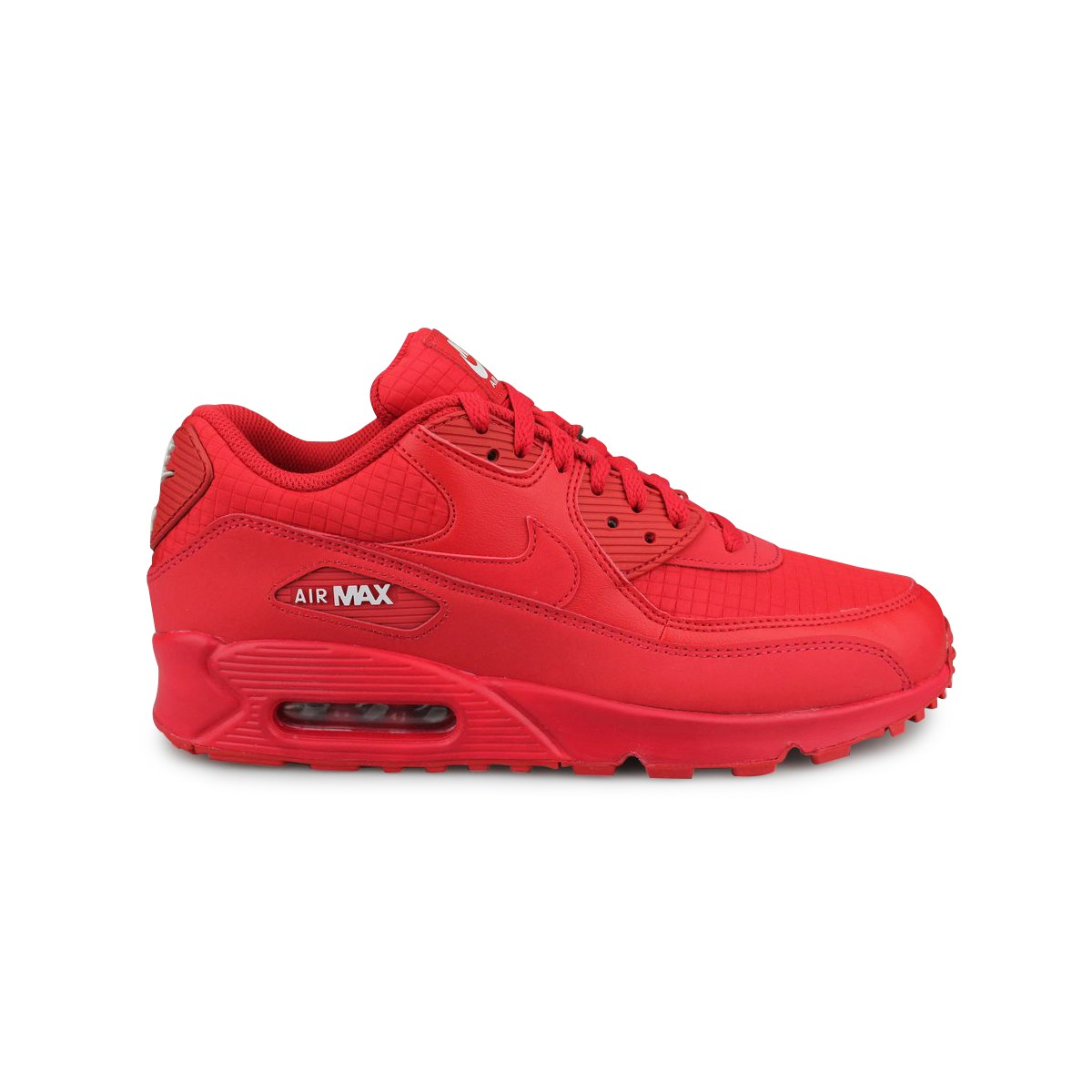 chaussures de séparation 53a18 4d3c3 Nike Air Max 90 Essential Rouge AJ1285-602   Street Shoes Addict