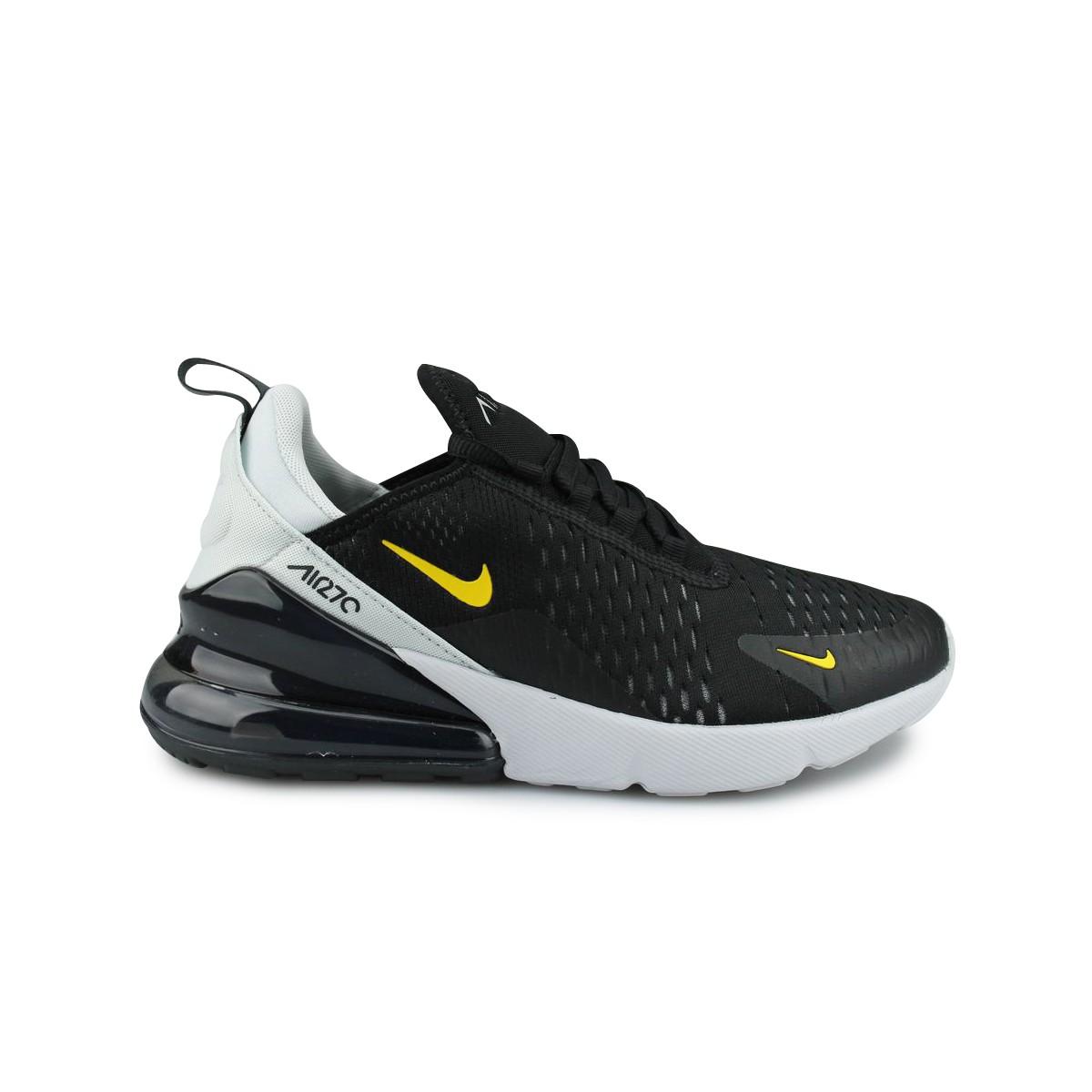 Nike Air Max 270 Junior Noir Jaune 943345-016 | Street Shoes Addict