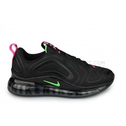 Nike Air Max 720 Black Neon Noir