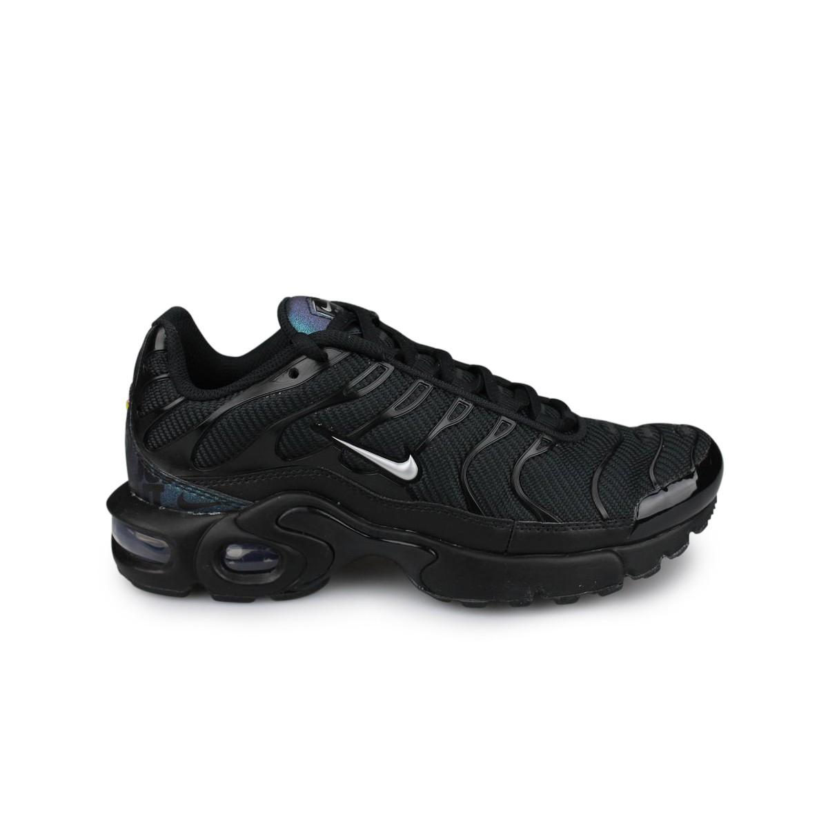 sneakers air max plus junior noir