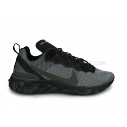 Nike React Element 55 Noir