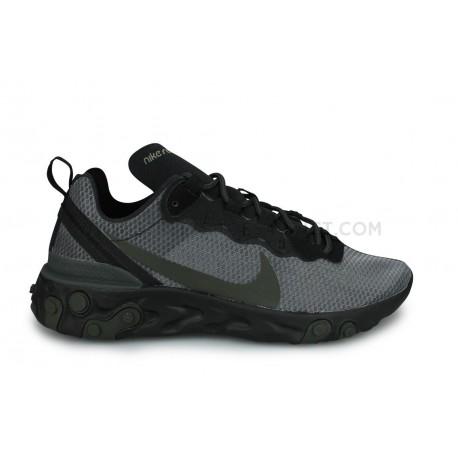 Nike React Element 55 Noir
