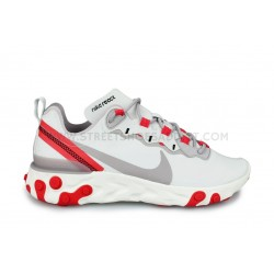 WMNS Nike React Element 55 Blanc
