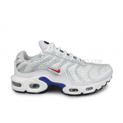Nike Air Max Plus TN Junior Blanc